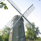 Picture - An old windmill in Portsmouth.