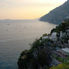 Picture - Positano on the Amalfi coast.