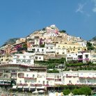 Picture - View of the town of Positano.