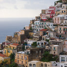 Picture - Positano and the ocean.
