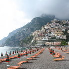 Picture - Beach at Positano.
