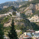 Picture - The hillside city of Positano.