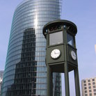 Picture - Historic traffic light on Potsdamer Platz, Berlin.