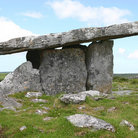 Picture - Poulnabrone Dolmen in the Burren Region.