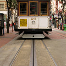 Picture - Cable Car on Powell Street, San Francisco.