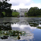 Picture - A pond at Powerscourt House.