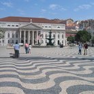 Picture - The central square in Lisbon.