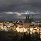 Picture - Evening view of the Prague Castle.