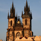 Picture - Prague Tyn Church.