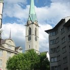 Picture - The Predigerkirche Church in Zurich.