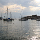 Picture - The harbor at Primosten.