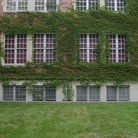 Picture - White windows of Princeton Universityin Princeton.