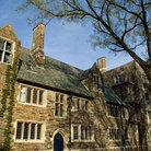 Picture - Dormitory in Spring at Princeton University.