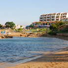 Picture - The beach resort area of Protaras.