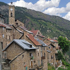 Picture - Stone buildings in the ancient town of Roubion, Provence.