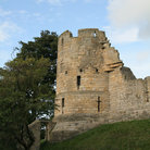Picture - Tower at the ruins of Prudhoe Castle.