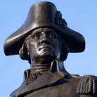 Picture - George Washington statue, Boston Public Gardens. .