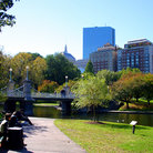 Picture - The Public Garden was established in 1837, Boston, MA.