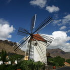Picture - Windmill at Puero de Mogan.