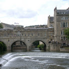 Picture - The Pulteney Bridge and Weir, Bath.