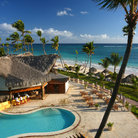 Picture - Resort on the beach front at Punta Cana.