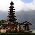 Picture - The Ulun Danu temple in Bali.