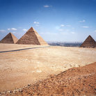 Picture - Pyramids of Giza.