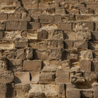 Picture - Stonework of the pyramids at Giza.