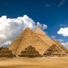 Picture - The Great pyramids in Giza.