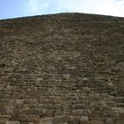 Picture - Close up, steps of a pyramid in Giza.