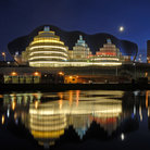 Picture - The Sage Music Venue and Newcastle Quayside.