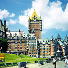 Picture - Chateau Frontenac in Quebec City.