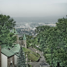 Picture - The view from the Citadel in Quebec City.