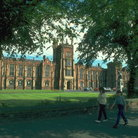 Picture - Queen's University in Belfast.