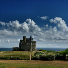 Picture - A castle at Quiberon.