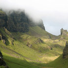 Picture - The Quiraing on the Isle of Skye.