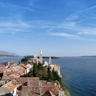 Picture - View over the old town of Rab on Rab Island.