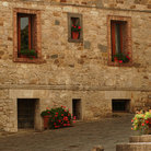 Picture - Stone building in Radda in Chianti.