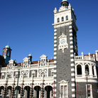Picture - Dunedin railway station.