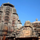 Picture - The Raja Rani Temple in Bhubaneshwar City.