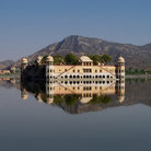 Picture - Water Palace in Rajasthan.