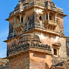 Picture - Tower of the old palace in Chittorgarh, Rajasthan.