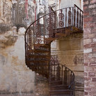 Picture - Staircase of Fort Mehrangarhin in Rajasthan.