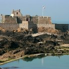 "Picture - The ""Fort National"" fortress at Saint-Malo."