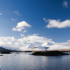 Picture - Mountain scenery of Rannoch Moor.