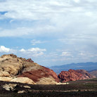 Picture - Unique rock formations at Red Rock Canyon National Conservation Area.