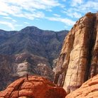 Picture - A climber at Red Rock Canyon.