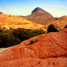Picture - Different rock colors at Red Rock Canyon National Conservation Area.