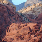 Picture - View over the Red Rock Canyon National Conservation Area.