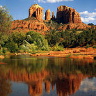 Picture - Cathedral rock at Red Rock State Park near Sedona.